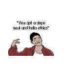 Jason The Good Place Quote, Dope Soul, Hella Ethics by leeseylee