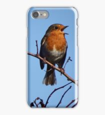 The Singing Robin iPhone Case/Skin