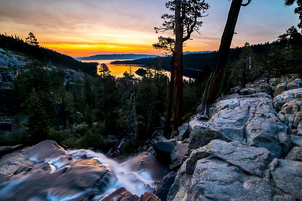 Lake Tahoe - Emerald Bay Sunrise by Lee Pfalmer