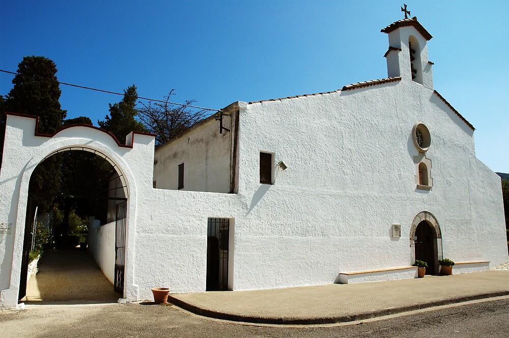 Old Church in SPAIN by Joeblack