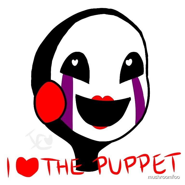 I Love The Puppet by mushroomfoo