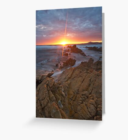 Lighting the Cape Greeting Card
