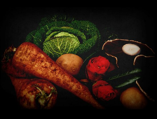 Still Life of Vegetables by Rod Gonzalez