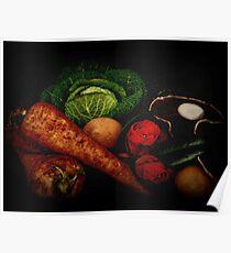 Still Life of Vegetables Poster