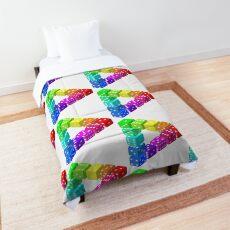 Penrose triangle or tribar Comforter