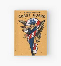 SJ Inspired Coast Guard Pinups - USCG Ensign Hardcover Journal