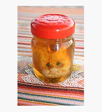 Squashed In A Jar Photographic Print