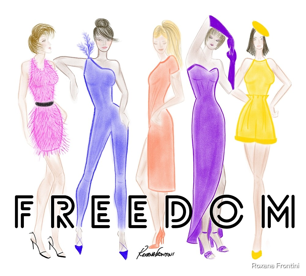 FREEDOM (Friends) by Roxana Frontini