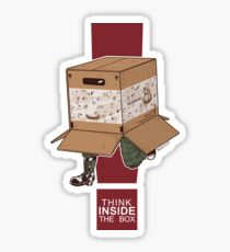 Think INSIDE the box. Sticker