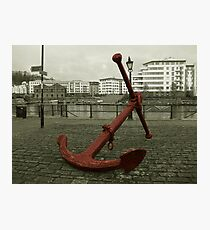 Anchors away. Photographic Print