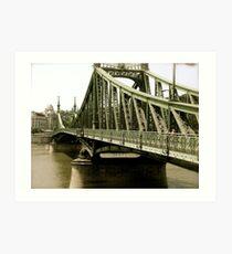 Chainbridge Art Print