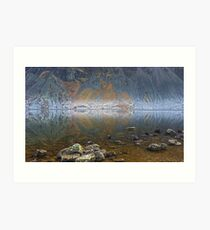 The Screes Art Print