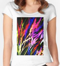 Splash of Colour Fitted Scoop T-Shirt