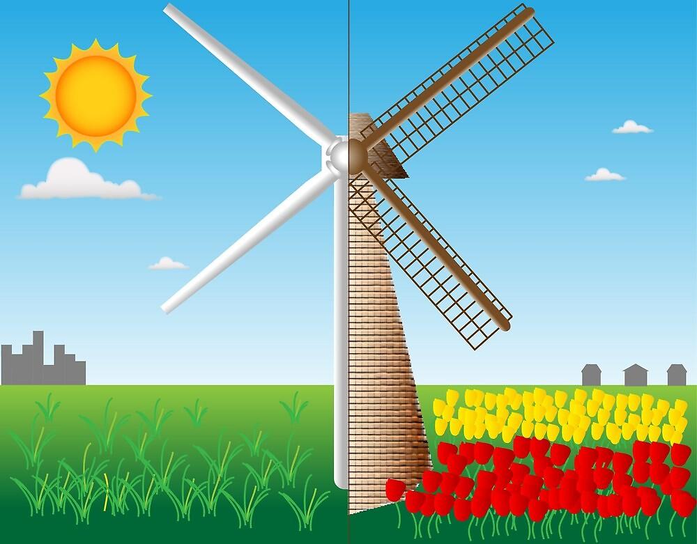 Wind energy by Meletios Verras