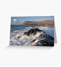 glen head 2 Greeting Card