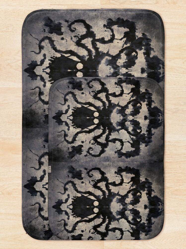 Alternate view of Rorschach Octopus Bath Mat
