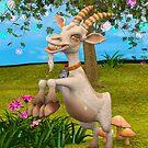 Happy Goat by Vac1