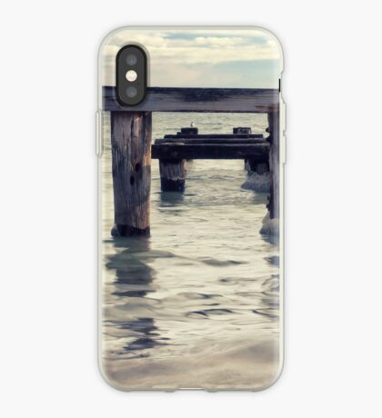 Wood and Water iPhone Case