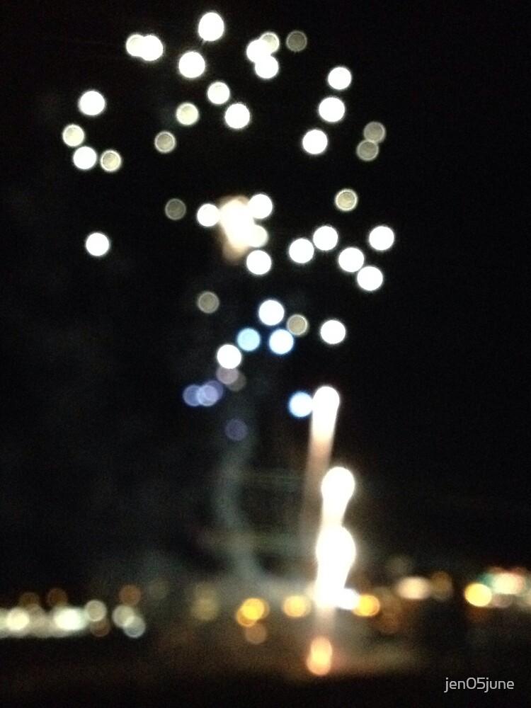 Blurry fireworks by jen05june