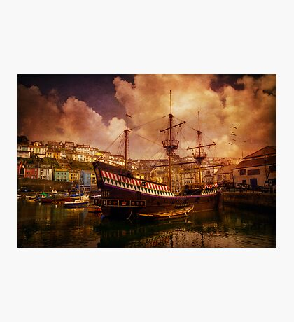 Old Ship Photographic Print
