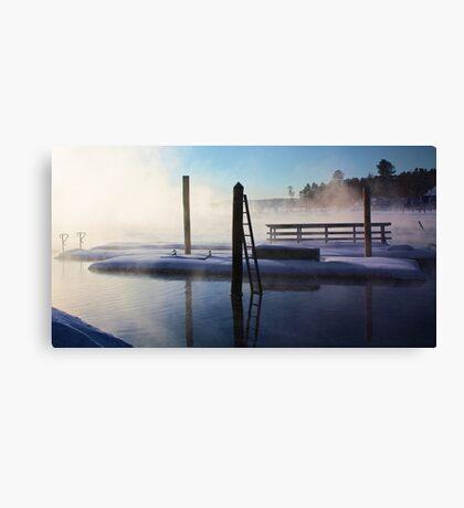 -Open Water - Brandy Pond Canvas Print