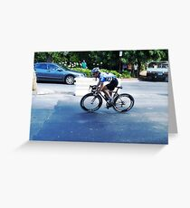 Wangaratta Criterium 2011 Greeting Card