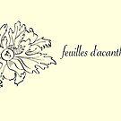 feuilles d'acanthe by babibell