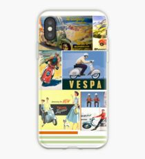 Vintage scootermania iPhone Case