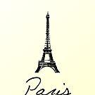 Paris Card by babibell