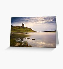 Dunstanburgh Castle, Northumberland Coast. UK Greeting Card
