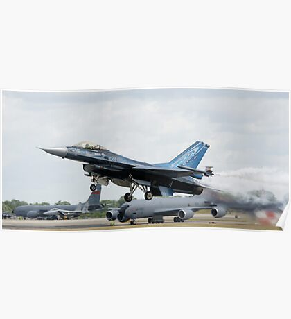 Belgian F-16A Take Off Poster