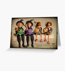 Tell Us A Happy Halloween Story! Greeting Card