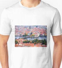 The Charles Bridge & Prague Unisex T-Shirt