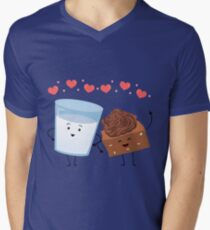Brownie's BFF Mens V-Neck T-Shirt