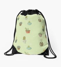 Cacti I Have Known Drawstring Bag