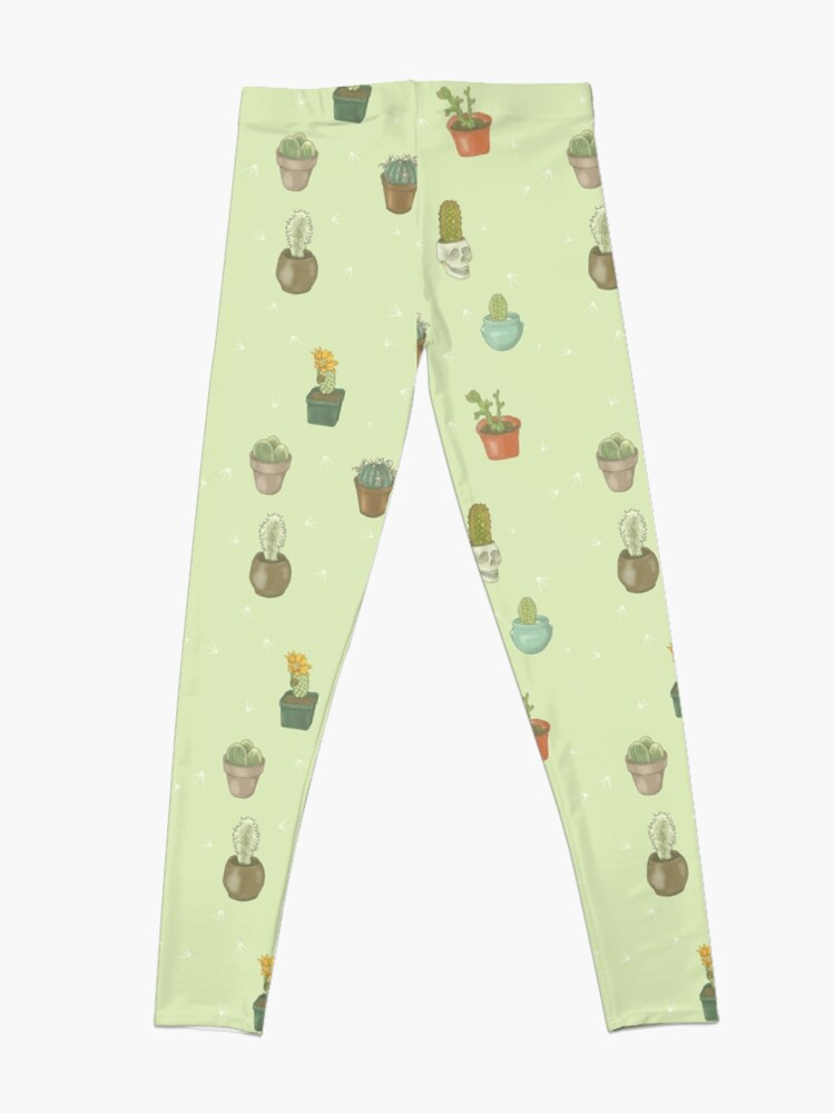 Alternate view of Cacti I Have Known Leggings