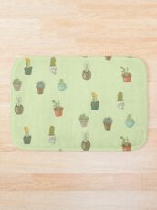 Cacti I Have Known Bath Mat