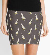 Levin Sword Tiled Pattern Mini Skirt