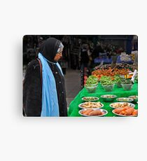 Market day Canvas Print