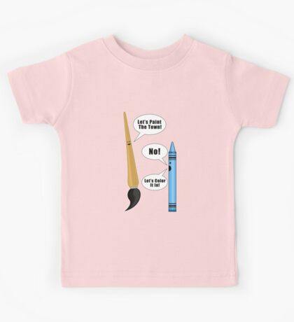 Lets Paint The Town! - Pink Kids Clothes