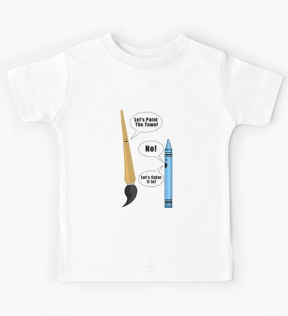 Lets Paint The Town! Kids Clothes