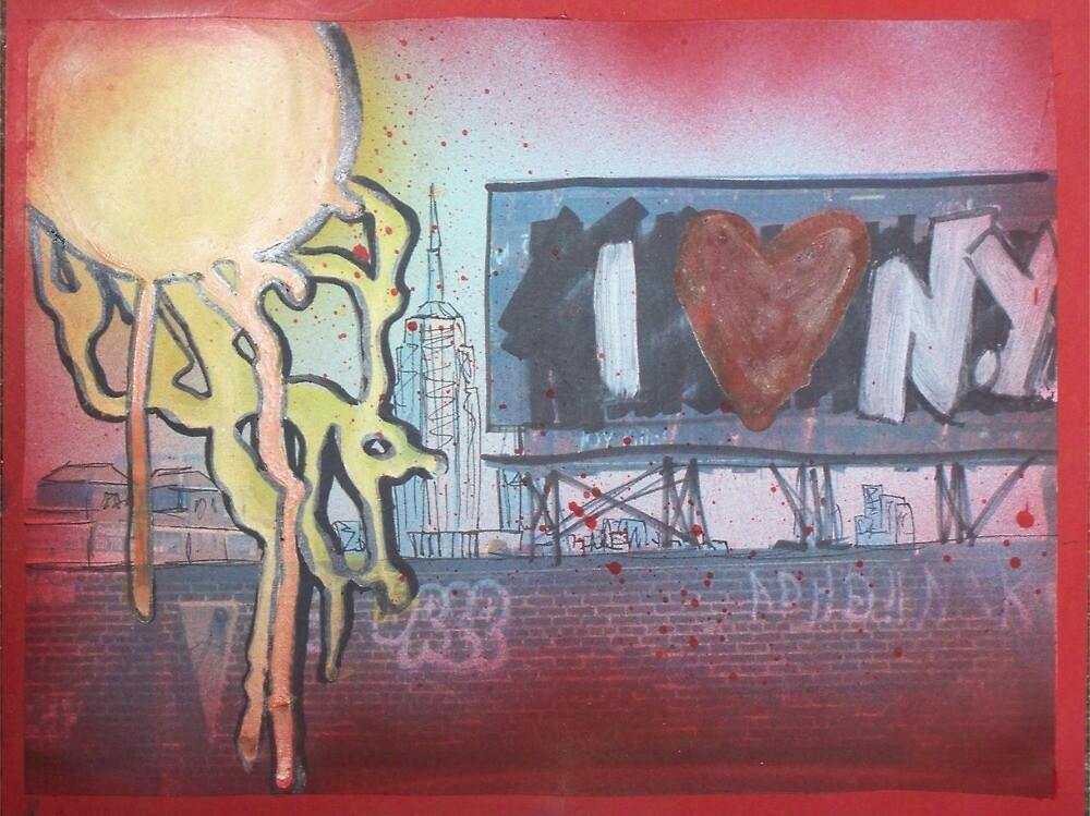 I Love New York by Toni Sulken