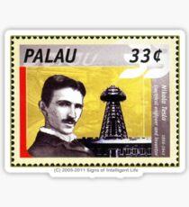 Tesla Stamp (Palau) Sticker
