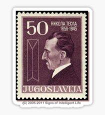 Tesla Stamp (Yugoslavia) III Sticker