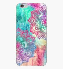 Round and Round the Rainbow iPhone Case