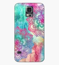 Round and Round the Rainbow Case/Skin for Samsung Galaxy