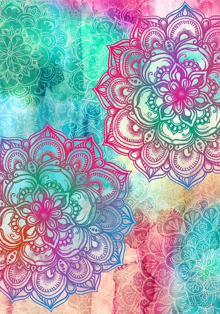 mandalaZone free mandala wallpaper for iPhone and iPod touch