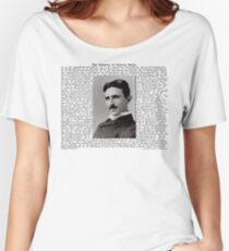 The Patents of Nikola Tesla Women's Relaxed Fit T-Shirt