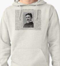 The Patents of Nikola Tesla Pullover Hoodie