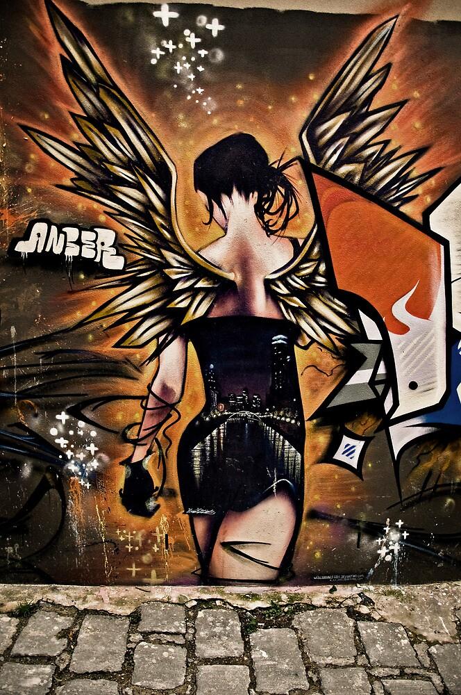 Fiery Angel by Sid Paleri